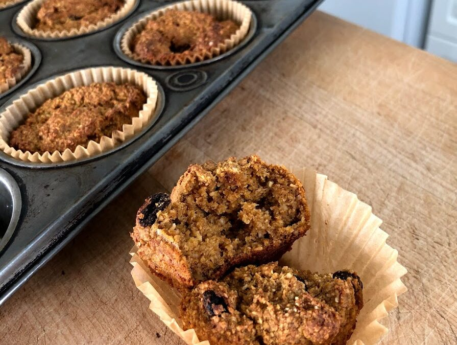 Sweet Potato Spice Muffins