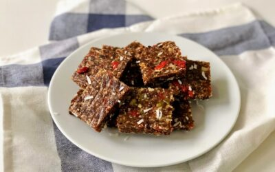 Quick and Easy Raw Energy Squares