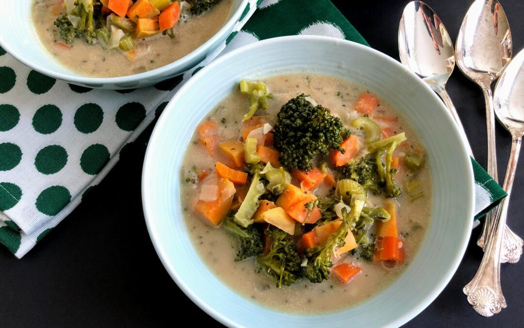 Broccoli Bean Chowder
